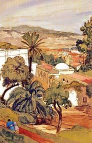 villa Abd-el-Tif Alger par Jean Bouchaud 1928